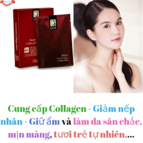 Mặt Nạ Collagen UGB Facial Essence Collagen
